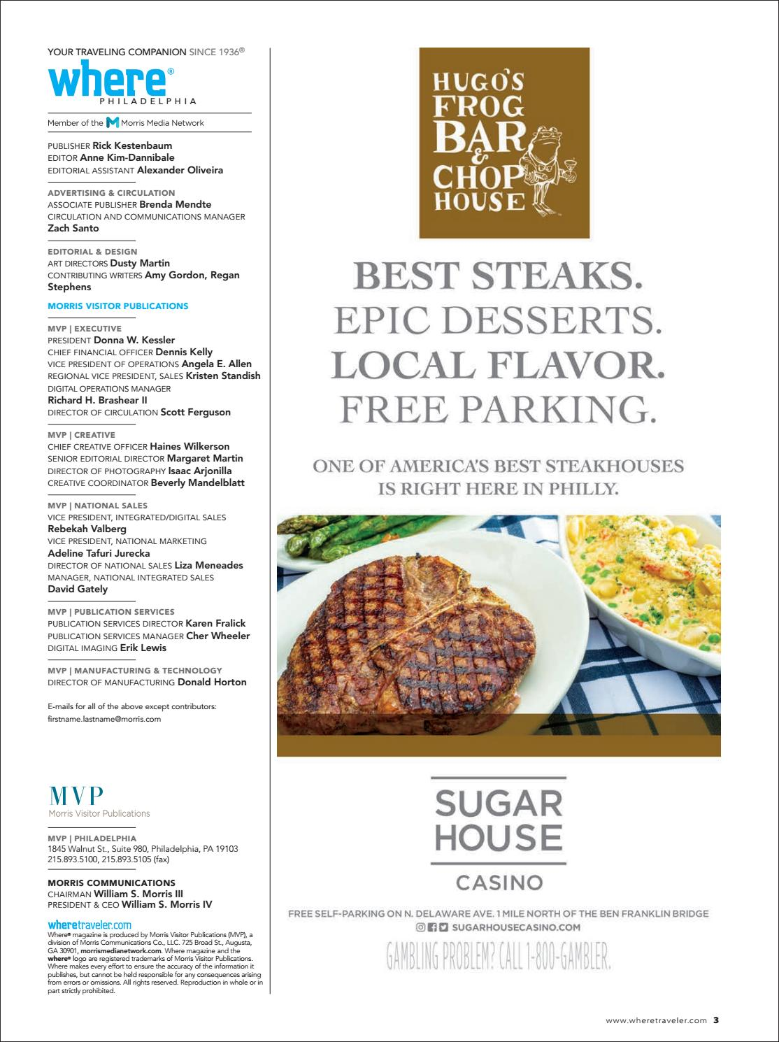 Where Magazine Philadelphia Mar 2018 By Morris Media Network Issuu