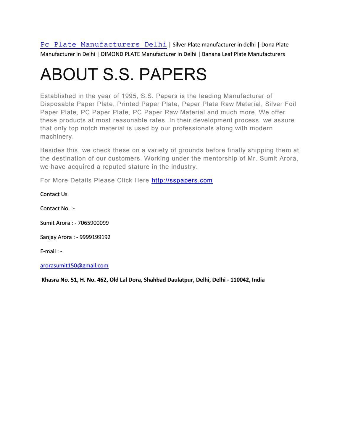 sc 1 st  Issuu & Pc plate manufacturers delhi 7065900099 by Sumit Arora - issuu