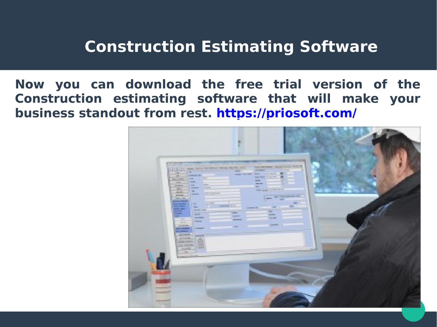 Construction estimating software by priosoft - issuu