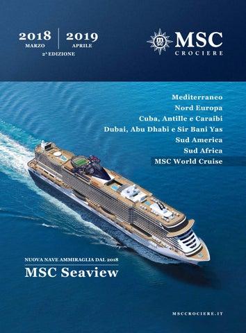 Msc Cruises 201819 By Igor Mihaic Issuu