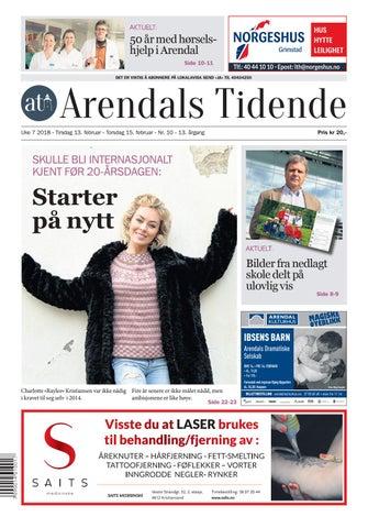 3ba011d2 Arendalstidende 20180213 000 00 00 by Tvende Media AS - issuu
