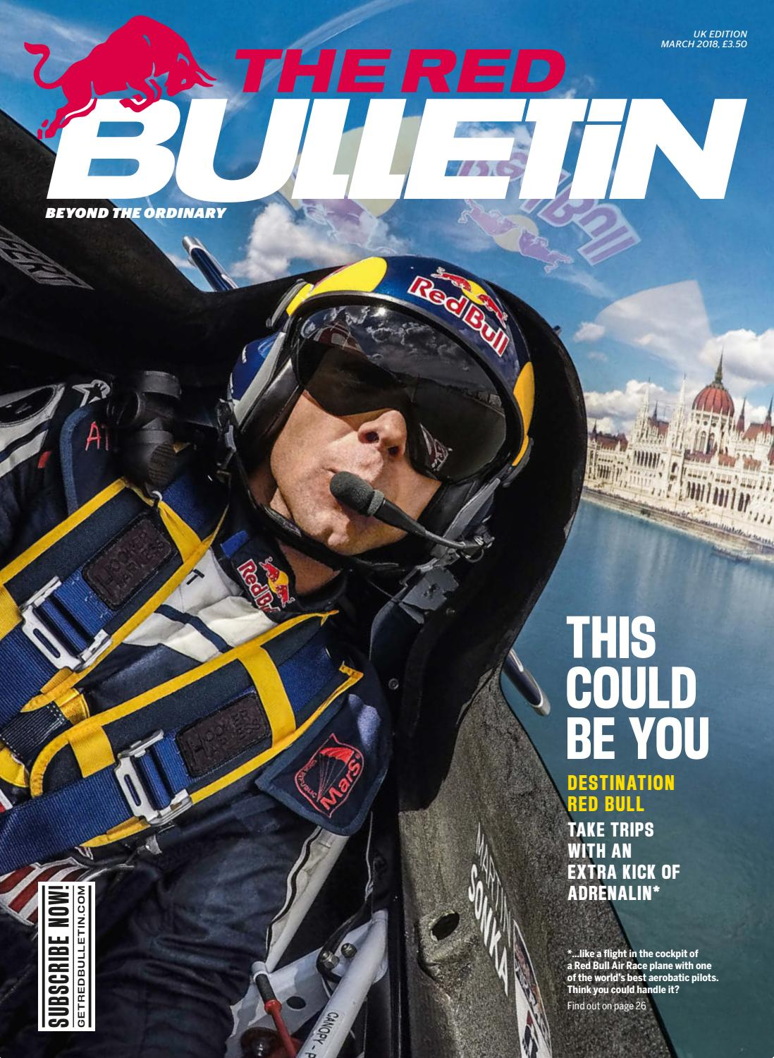 The Red Bulletin March 2018 - UK by Red Bull Media House - issuu