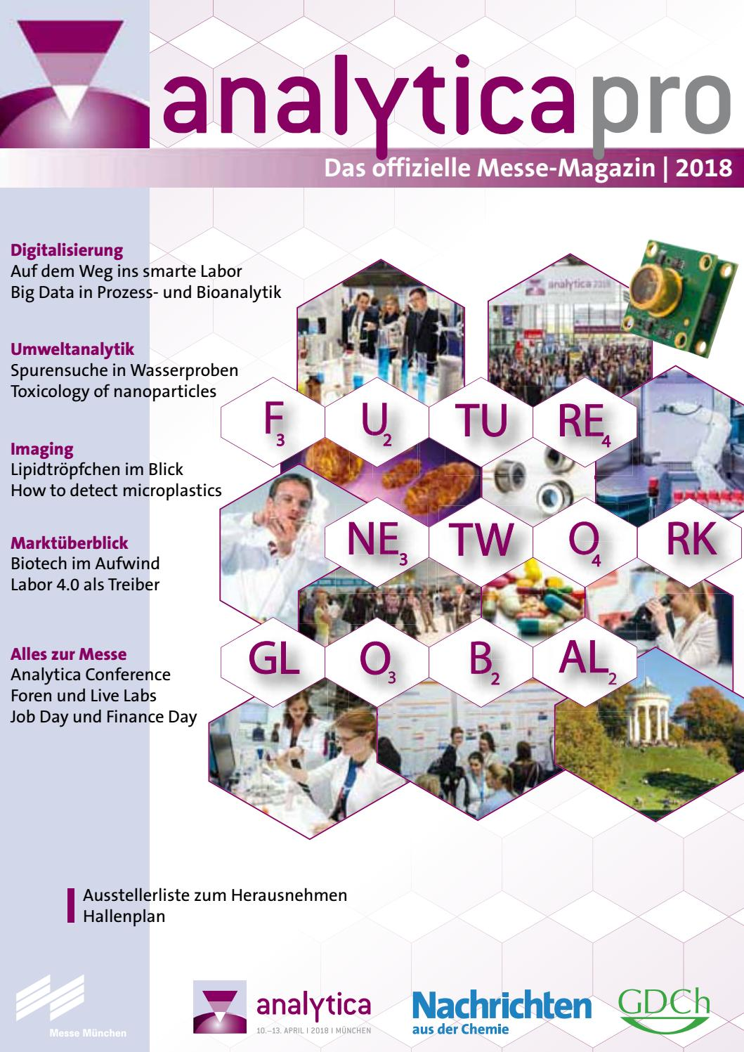 analytica_18_Messe_Magazin_pro_D by Messe Muenchen - issuu