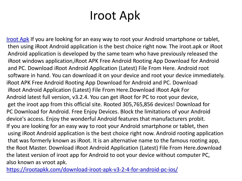 Iroot Apk 3 2 4 by loverr43 - issuu
