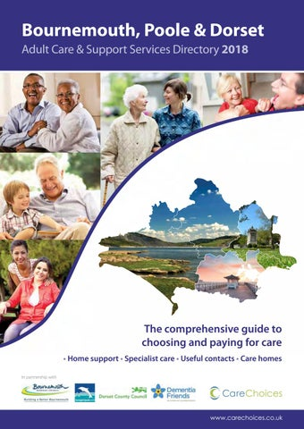 Bournemouth, Poole & Dorset Care Directory 2018