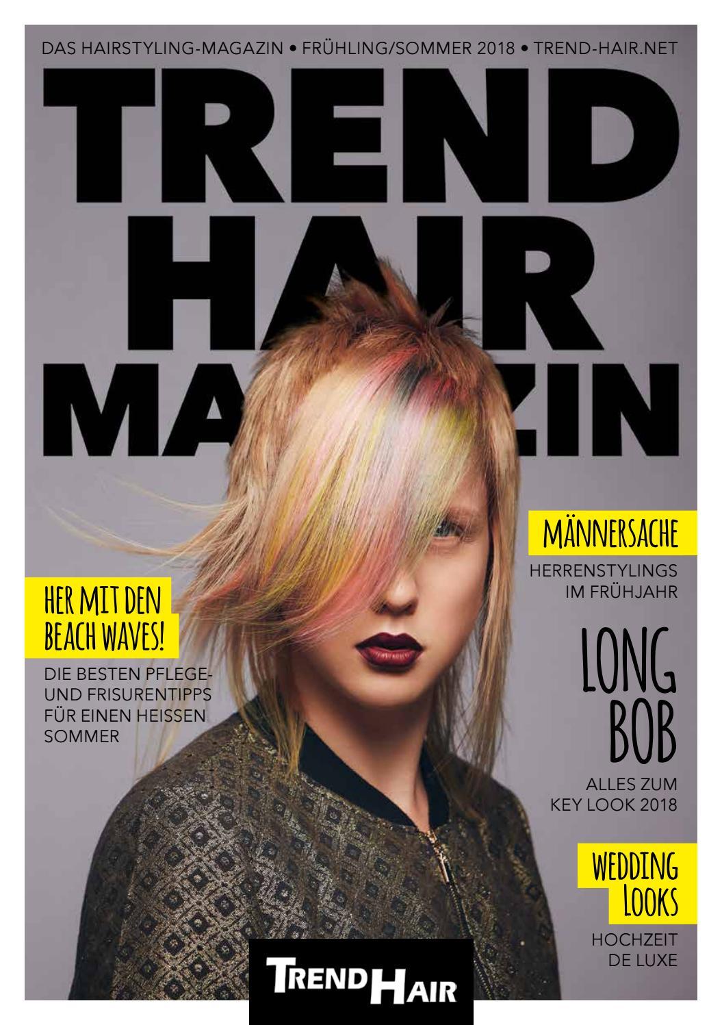 TREND HAIR Magazin FrühlingSommer 2018 by Corporate Media