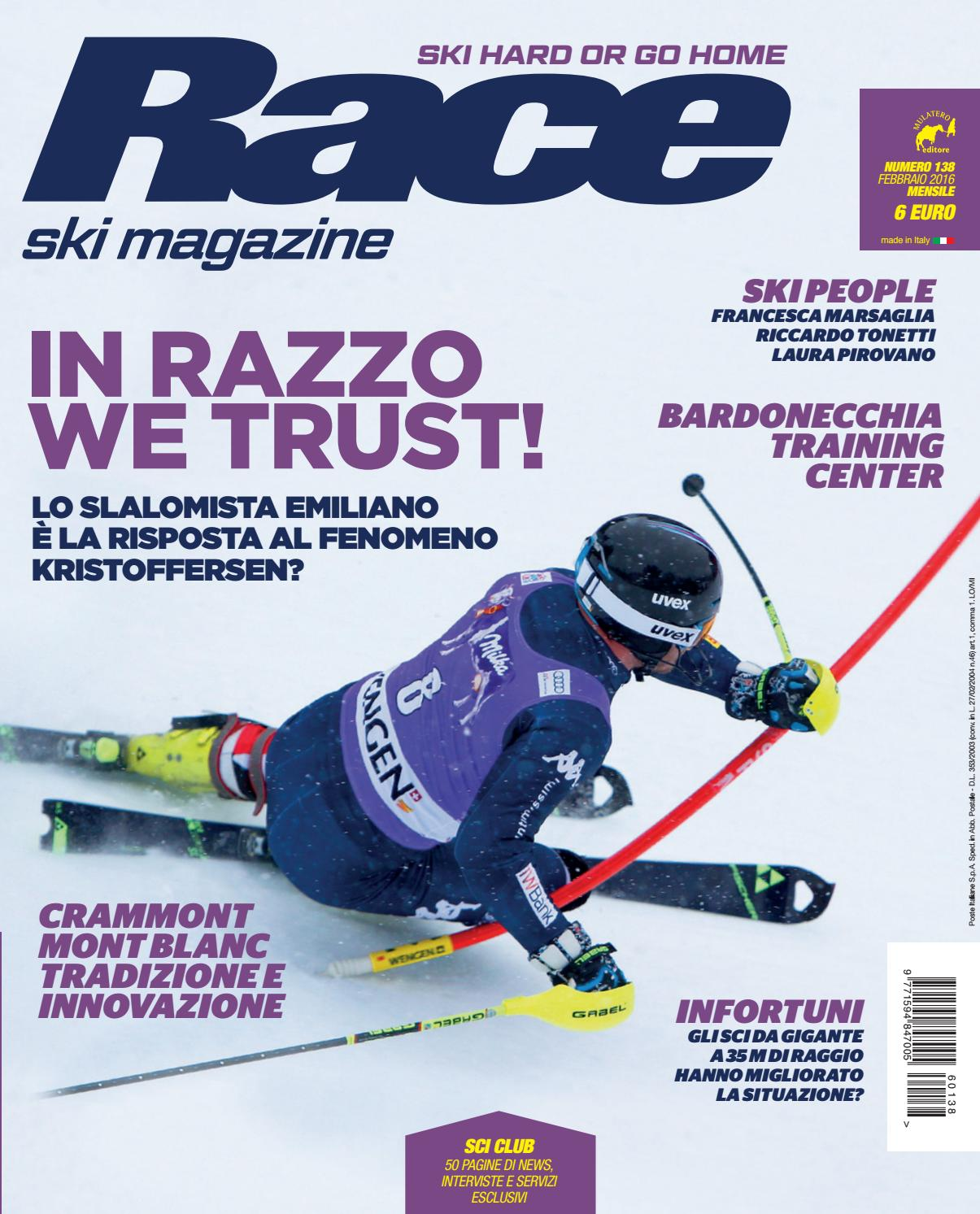 Race 138 by Mulatero Editore - issuu 5beb797c6a0
