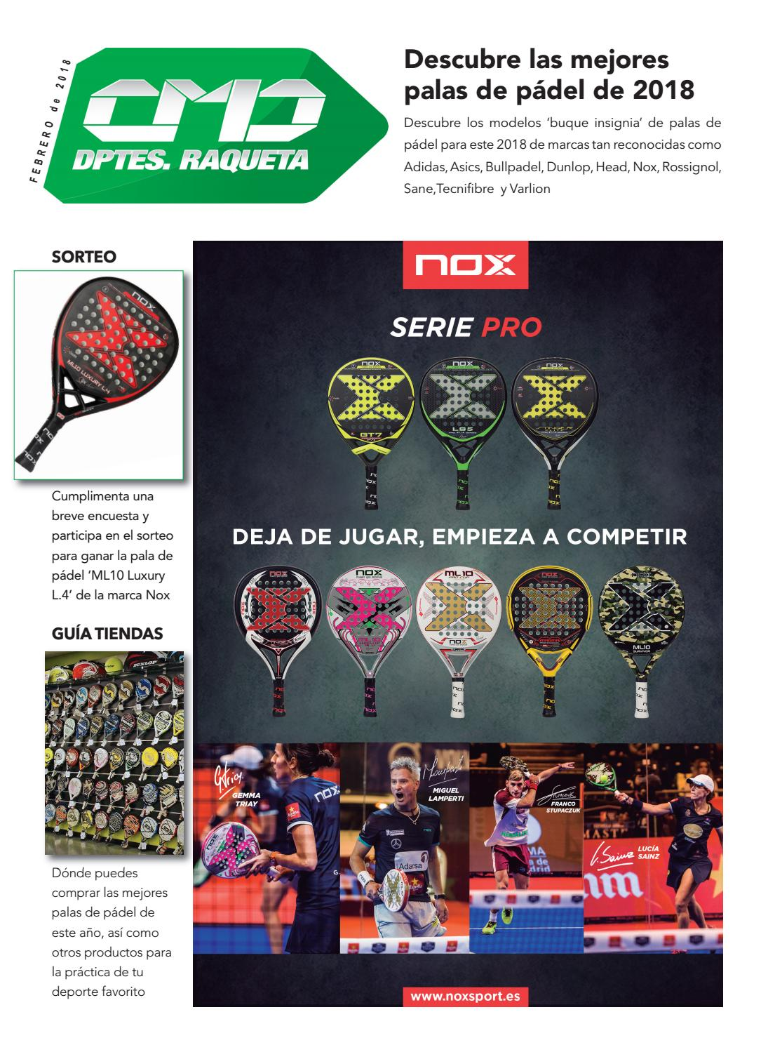 Padel Cmdsport 2018 By Novedades Issuu sCBhQdtrxo