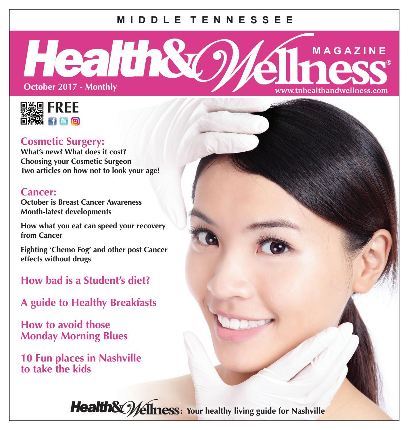 Nashville Health & Wellness Magazine October issue 2017 by phrmedia ...