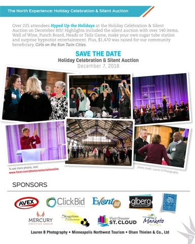 Page 19 of Holiday Celebration & Silent Auction