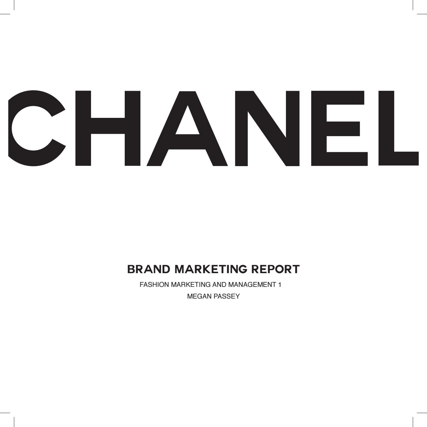 Chanel brand marketing report by meganpassey issuu fandeluxe Choice Image