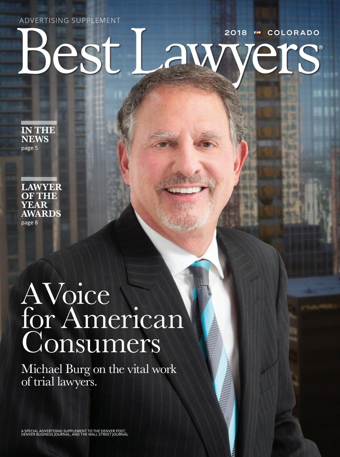 Best Lawyers In Colorado 2018 By Best Lawyers Issuu