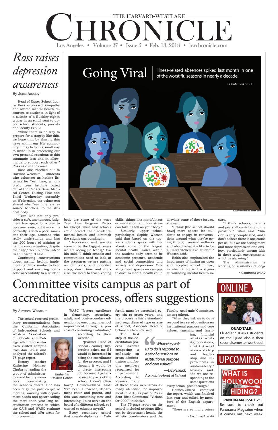 7aec660c7ec February 2018 Issue by Harvard-Westlake - issuu