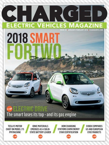 CHARGED Electric Vehicles Magazine - Issue 35 JAN/FEB 2018