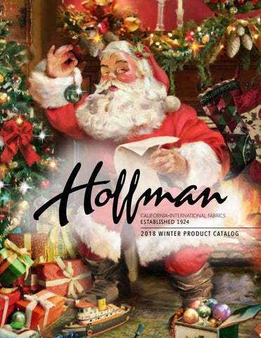 Hoffman Fabrics Winter 2018 Catalog by Hoffman California Fabrics