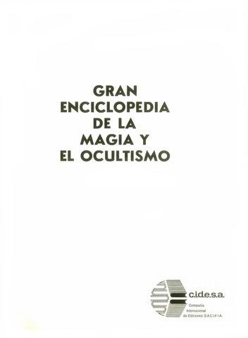 f69b5bafce9 Enciclopedia de la magia by Maria Dome - issuu