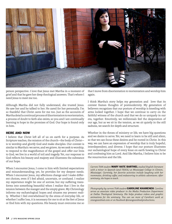 DTS Magazine - Spring 2018