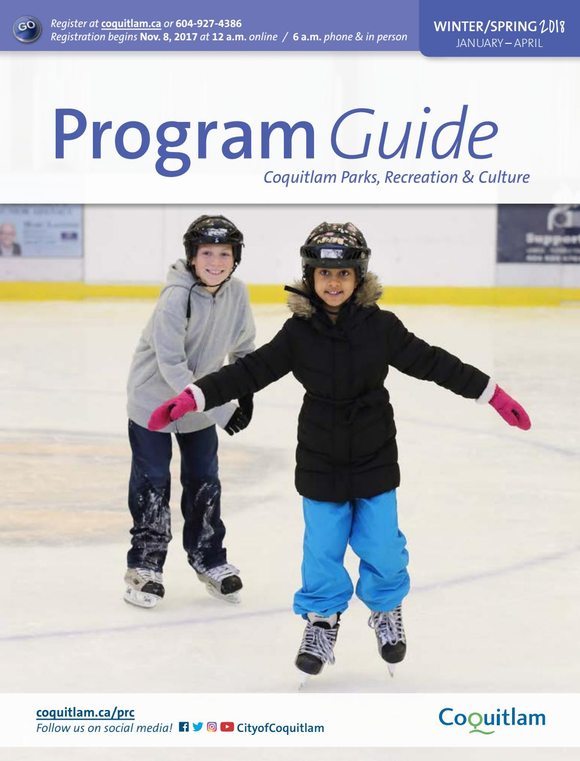 2018 Winter | Spring Program Guide by City of Coquitlam - issuu