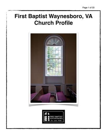 First Baptist 22980 Christmas Eve Service 2020 First Baptist Waynesboro, VA Church Profile by Barrett Owen   issuu