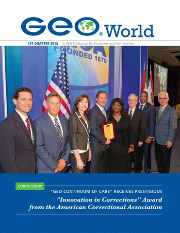 1Q18 GEO World by The GEO Group - issuu