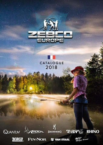 By French Catalogue 3d Issuu Zebco 2018 xtdQrshC