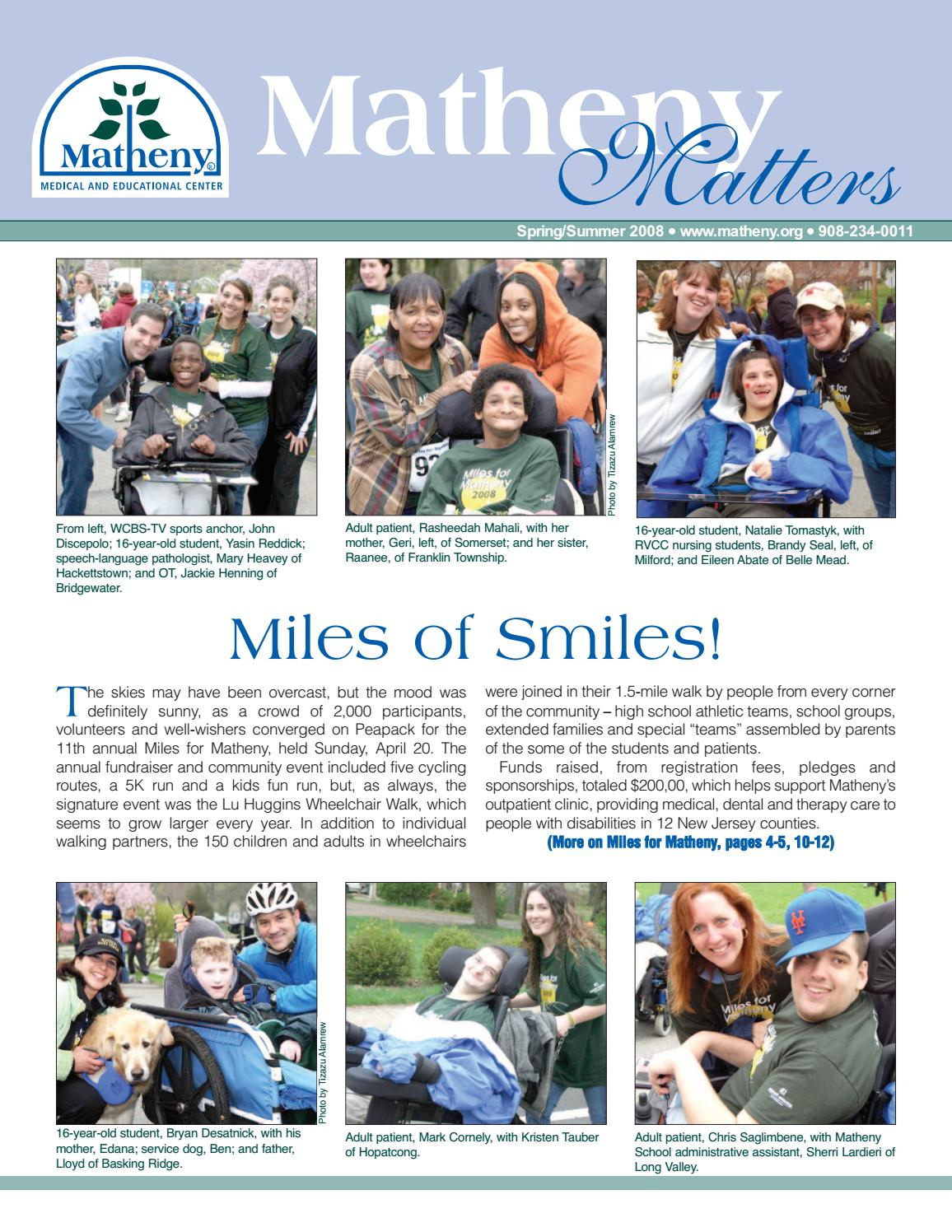 2008 Spring/Summer Matheny Matters by Matheny School - issuu