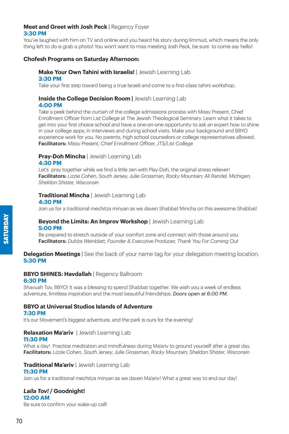 BBYO International Convention 2018 Program Guide by BBYO - issuu