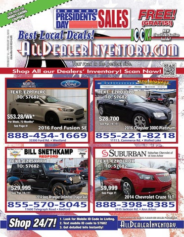 All Dealer Inventory's February 14th Edition! Shop The Best