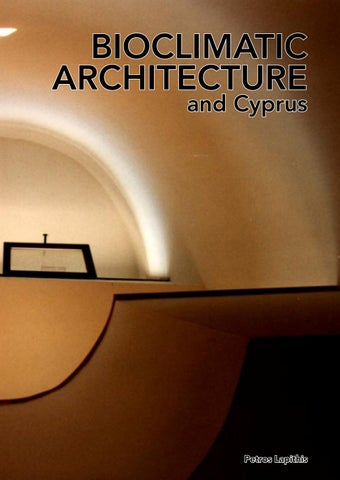 bioclimatic architecture and cyprus by petros lapithis issuu