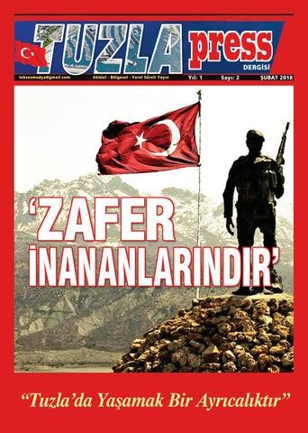 Tuzlapress Dergisi Subat Sayisi By Erkan Tuzla Issuu