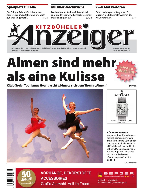 Kitzbuheler Anzeiger Kw 07 2018 By Kitzanzeiger Issuu