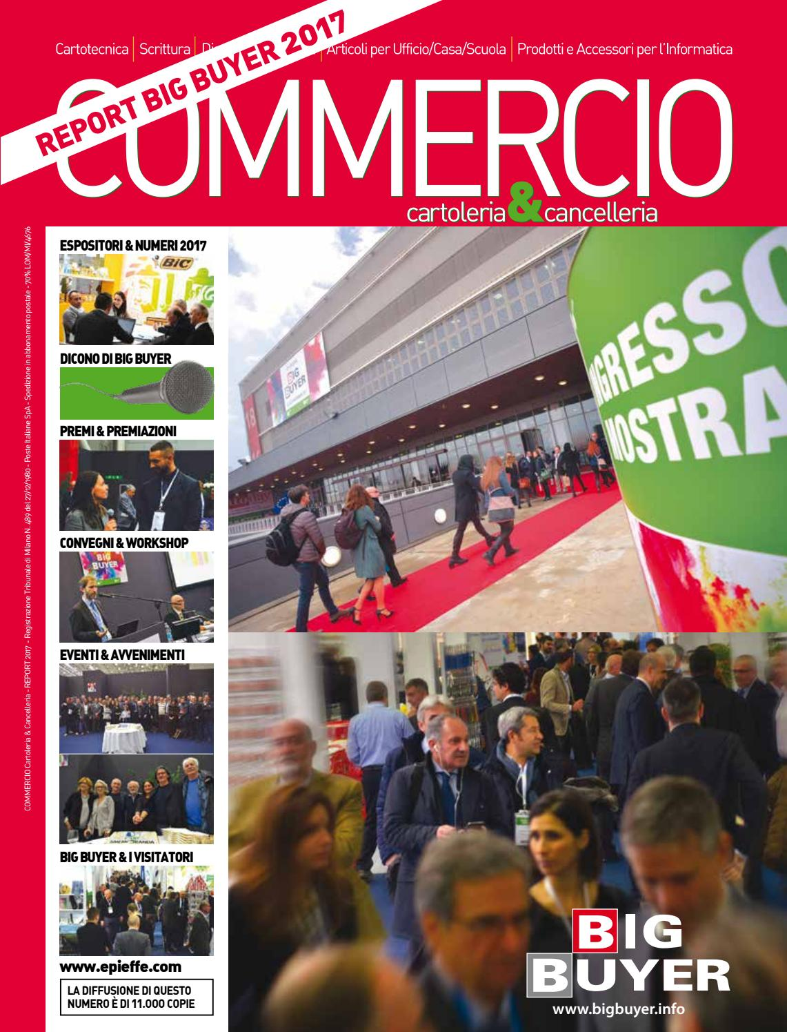 Report Big Buyer 2017 by COMMERCIO Cartoleria   Cancelleria - issuu 9d3128f8731