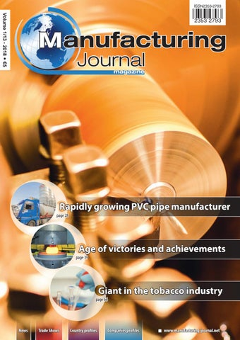 Manufacturing-Journal 1/13/2018 by Z-MEDIA - issuu