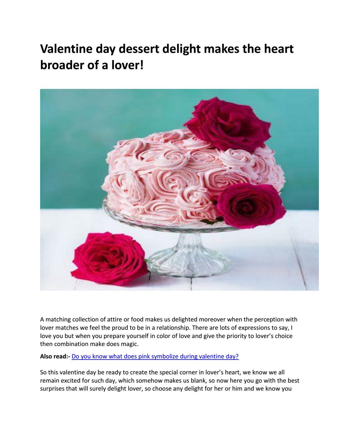 Find Valentine Day Online Cake Delivery In Chandigarh By