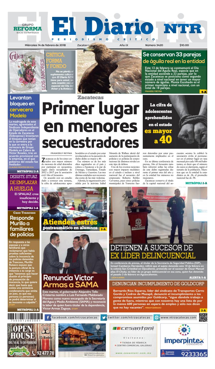 15463e041ad89 14022018 by NTR Medios de Comunicación - issuu