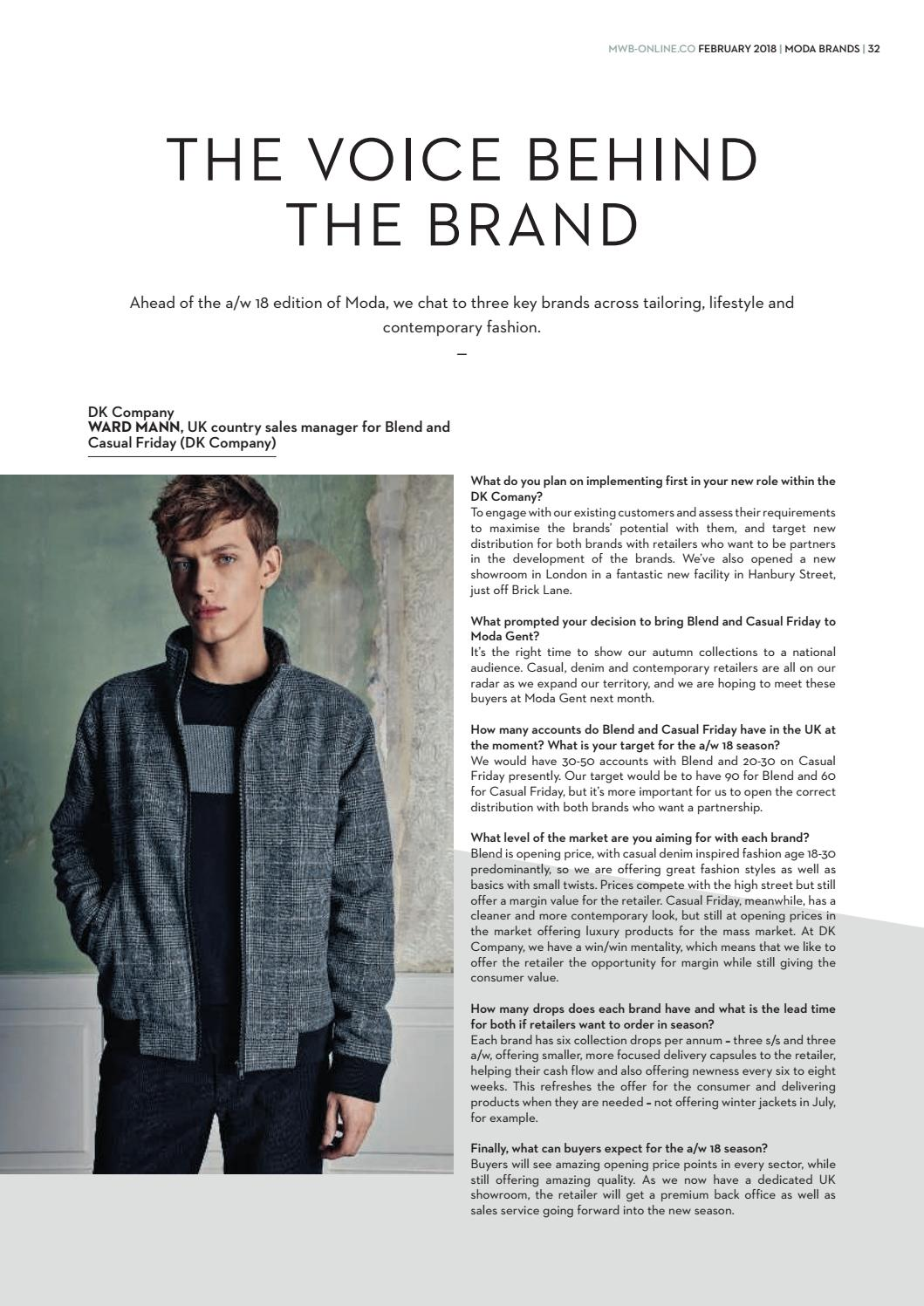 02d89e469f15 MWB MAGAZINE FEBRUARY 2018 ISSUE 245 by fashion buyers Ltd - issuu