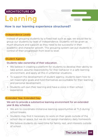 Page 10 of Architecture of learning