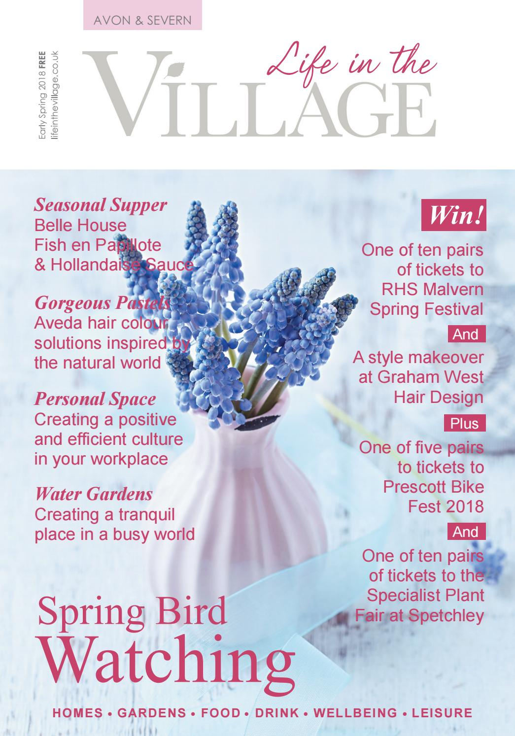 40909ed913dd Life in the Village - Avon   Severn - Early Spring 2018 by Lisa Lambon -  issuu