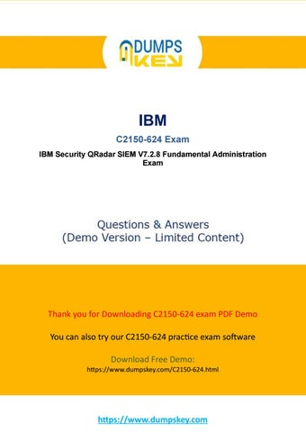 Actual C2150-624 Dumps - IBM Ariel Query Language Exam