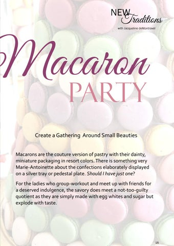 Page 15 of Macaron Party by Jacqueline deMontravel