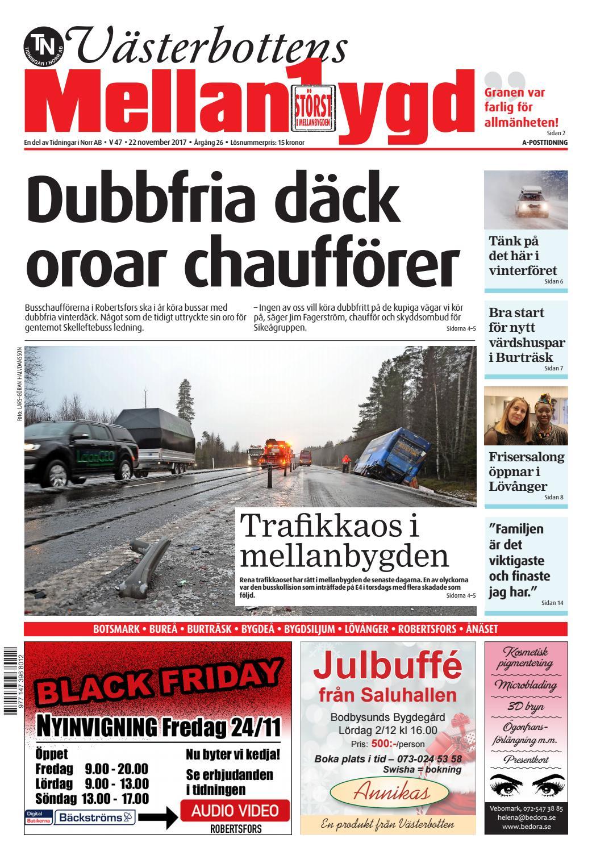 Mb 47 17 by Tidningar i Norr AB - issuu 4eb9557885782