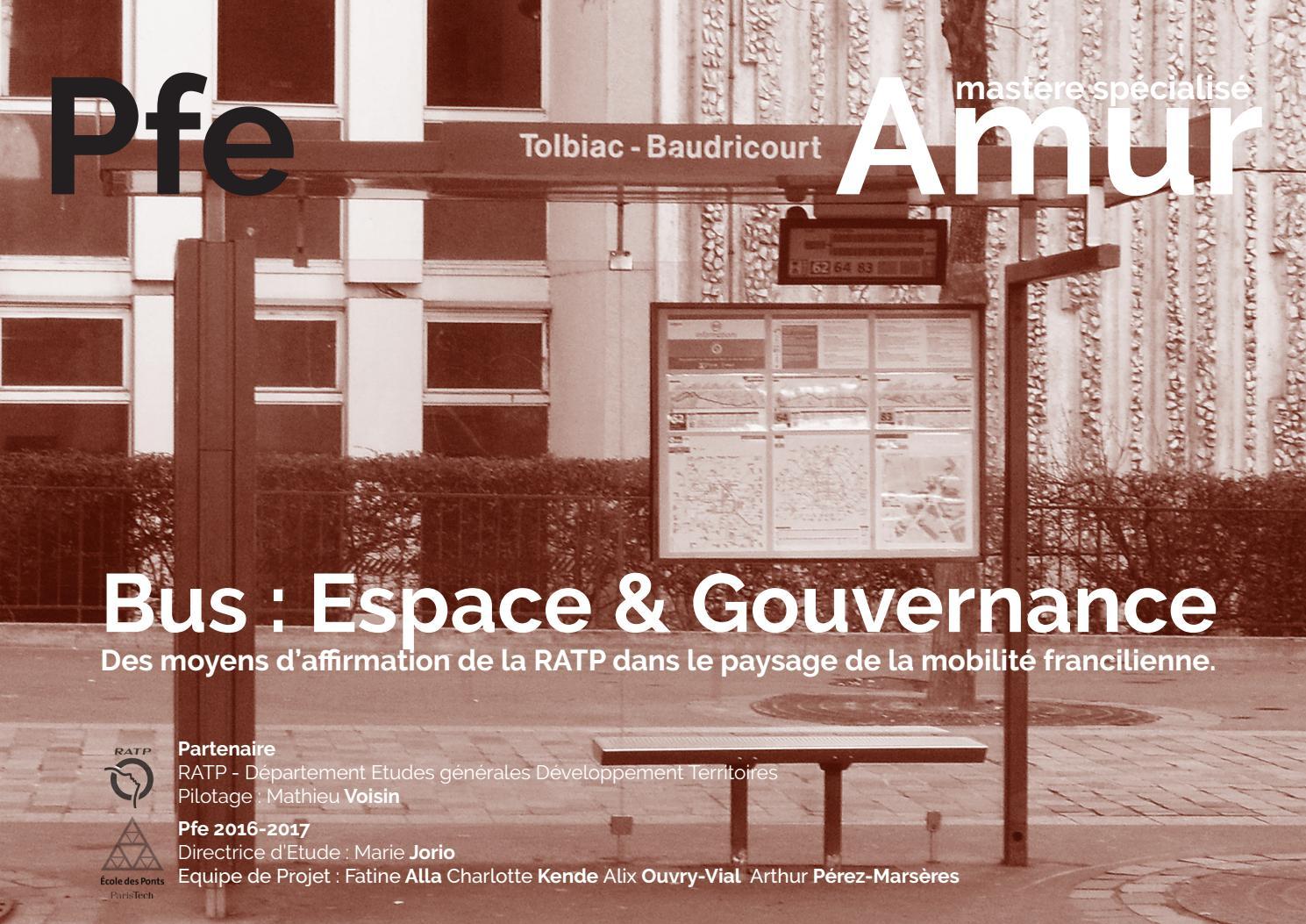 Bus   espace et gouvernance by Charlotte Kende - issuu 454201439ca2