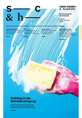 Swiss Cuisine & Hospitality – Ausgabe 1, 2018 by marmite verlags ag ...