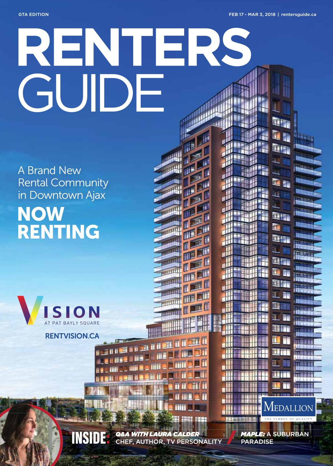 GTA Renters Guide - 17 Feb, 2018 by NextHome - issuu