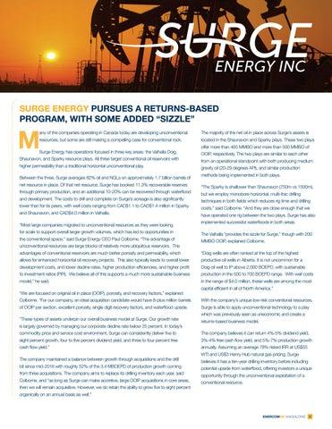 Page 9 of Tamarack Valley Energy / Surge Energy Inc.