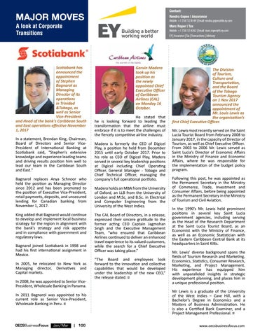 OECS Business Focus 8 by AMS St  Lucia - issuu