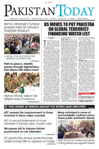 E paper pdf 14th february (isb) by Pakistan Today - issuu