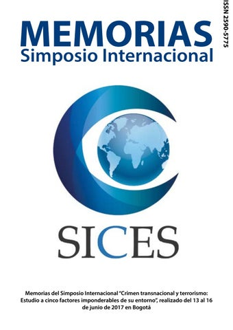 29a3bc11e5 Memorias Simposio Internacional SICES by Ediciones Escuela Superior ...