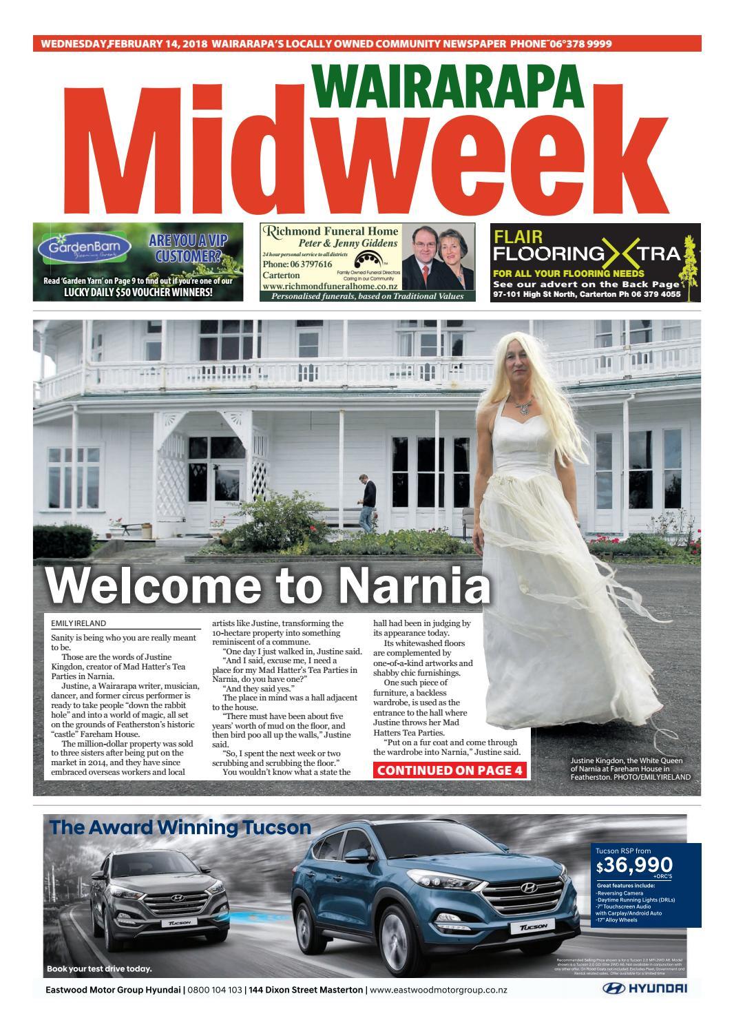 d00a3bff90 Wairarapa Midweek Wed 14th February by Wairarapa Times-Age - issuu
