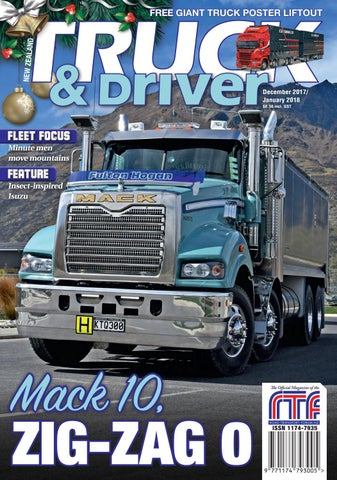 NZ Truck & Driver Dec/Jan 2018 by NZ Truck & Driver - issuu